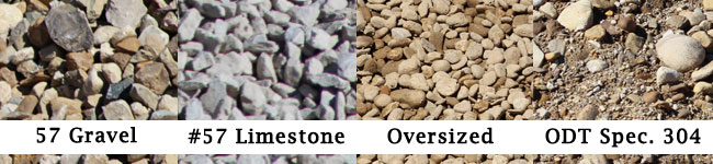 57 Stone Size : Sand and gravel united aggregates central ohio